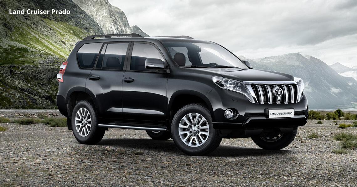 Начались продажи нового Toyota Land Cruiser Prado