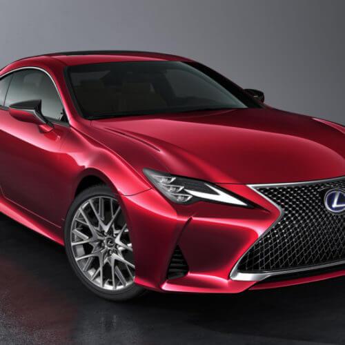 Рестайлинг Lexus RC: ностальгия по LC?